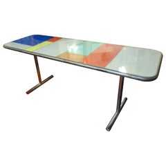 Artist Made Metal Table