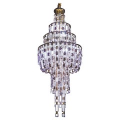 Artistic Handmade Chandelier, Belle Epoque by A. Lohman and La Murrina
