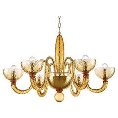 Artistic Handmade Murano Glass Chandelier Bright by La Murrina