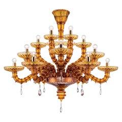 Artistic Handmade Murano Glass Chandelier Ca' D'oro by La Murrina