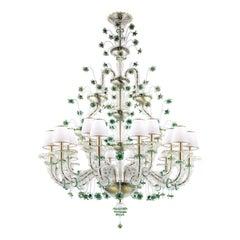 Artistic Handmade Murano Glass Chandelier Ca' Rezzonico by La Murrina