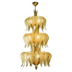 Artistic Handmade Murano Glass Chandelier Caracalla by La Murrina