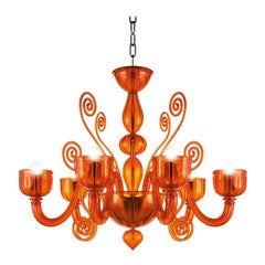 Artistic Handmade Murano Glass Chandelier Glamour by La Murrina