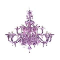 Artistic Handmade Murano Glass Chandelier Veneziano by La Murrina