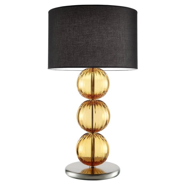 Artistic Handmade Table Lamp Rolls, by La Murrina For Sale