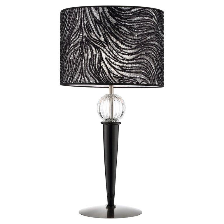 Artistic Handmade Table Lamp Tangeri, by La Murrina For Sale