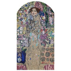Artistic Mosaic Handmade on Aluminum Panel Dimension and Colors Customizable