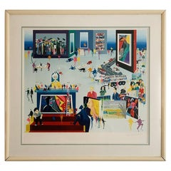 Artists Have all the Fun, Screen Print by Leo Posillico #66/70