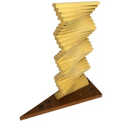 Artist's Maquette for the Articulated Wall Sculpture by Herbert Bayer