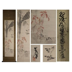 Artists Suiho Yano Showa Period Scroll Japan 20c Artist Nihonga