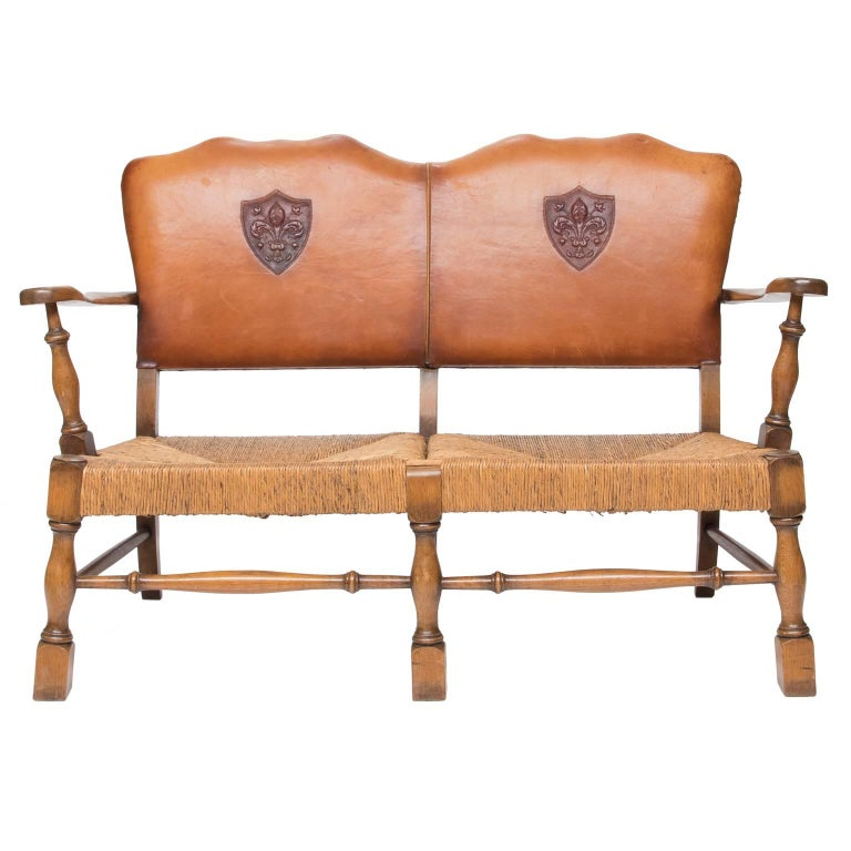 Arts And Crafts Settee With Chairs For Sale At 1stdibs