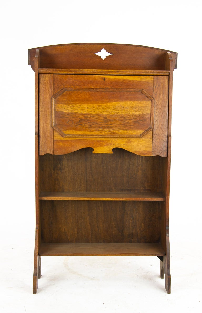 Arts & Crafts Bookcase, Oak Bookcase, Glasgow, Scotland 1910, Antiques For  Sale - Arts And Crafts Bookcase, Oak Bookcase, Glasgow, Scotland 1910