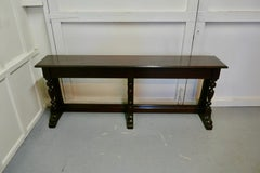 Arts and Crafts Country Oak Hall Table