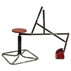 Arts & Crafts Metal Toy Seat Bucket Digger