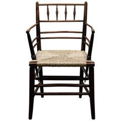 Arts & Crafts Sussex Chair, by Philip Webb for Morris and Co.