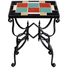 Arts & Crafts Tile Table