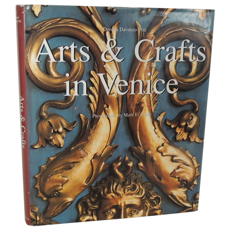 Arts & Craft in Venice Rare Hard-Cover Vintage Coffee Table Book For Sale