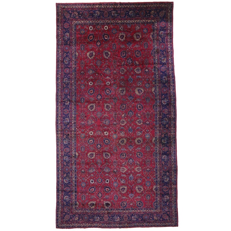Antique Arts And Crafts Rugs: Arts And Crafts Antique Turkish Sparta Palace Size Rug
