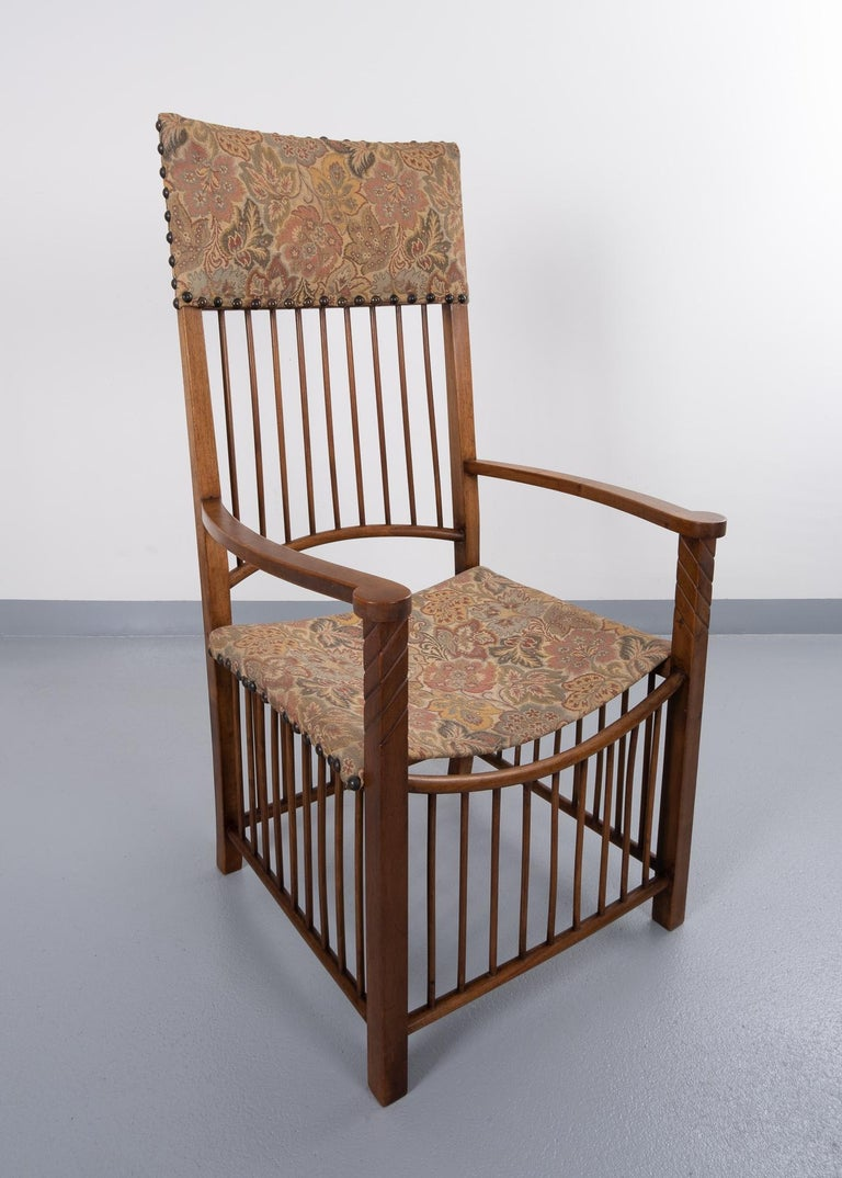 Arts & Crafts Armchair  For Sale 3