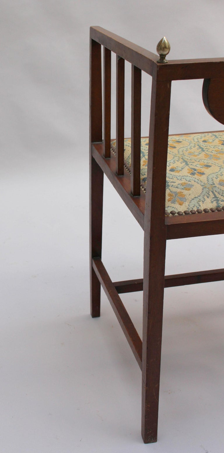 Fine Arts & Crafts Armchair by G M Ellwood, Made by J S Henry For Sale 2