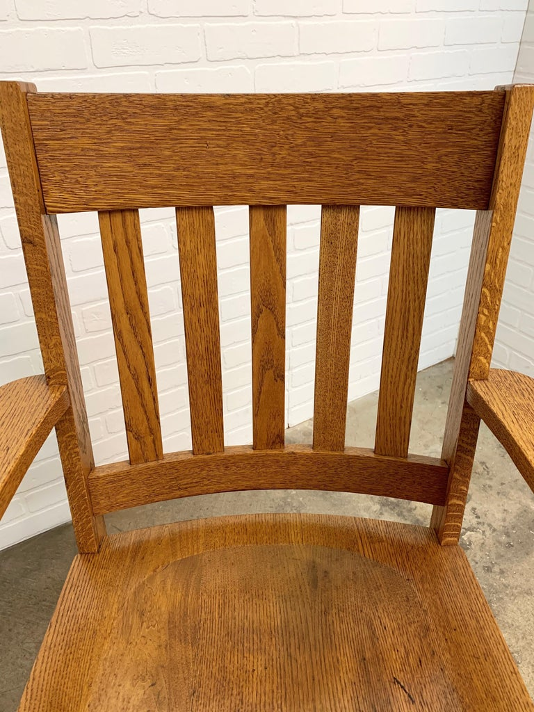 Arts & Crafts Armchair For Sale 4