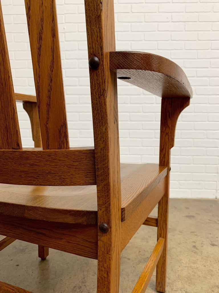 20th Century Arts & Crafts Armchair For Sale