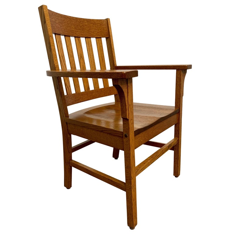 Arts & Crafts Armchair For Sale