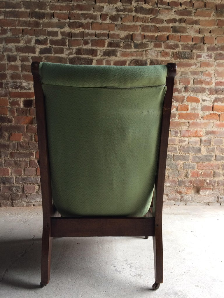 Arts And Crafts Armchair Lounge Smokers Chair 20th Century