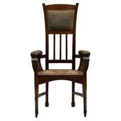 Arts & Crafts Armchair No.1, France, Circa 1900