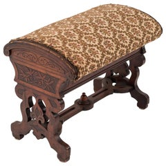 Arts & Crafts Beechwood Flip Top Bench