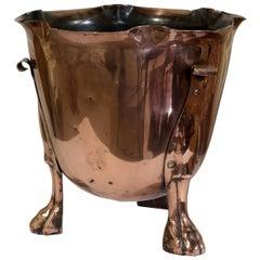 Arts & Crafts Copper Jardinière or Planter