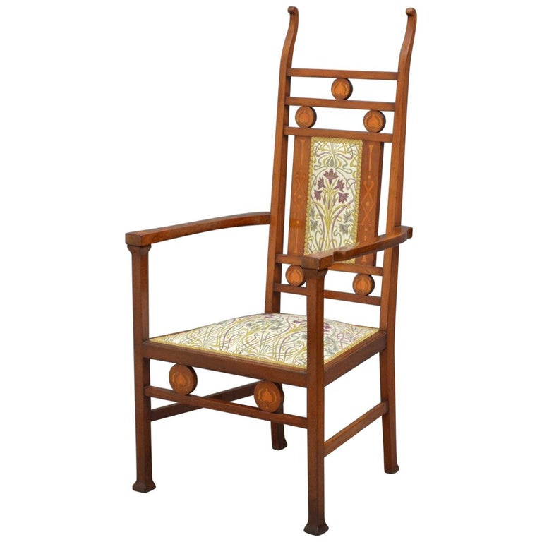 Arts And Crafts Mahogany Chair For Sale At 1stdibs