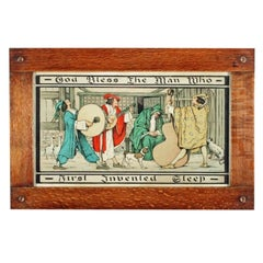 Arts & Crafts Oak Framed Print, 20th Century