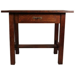 Arts & Crafts Side Table, circa 1910
