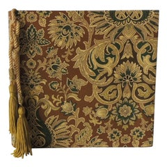Arts & Crafts Style Fabric Covered Photo Album