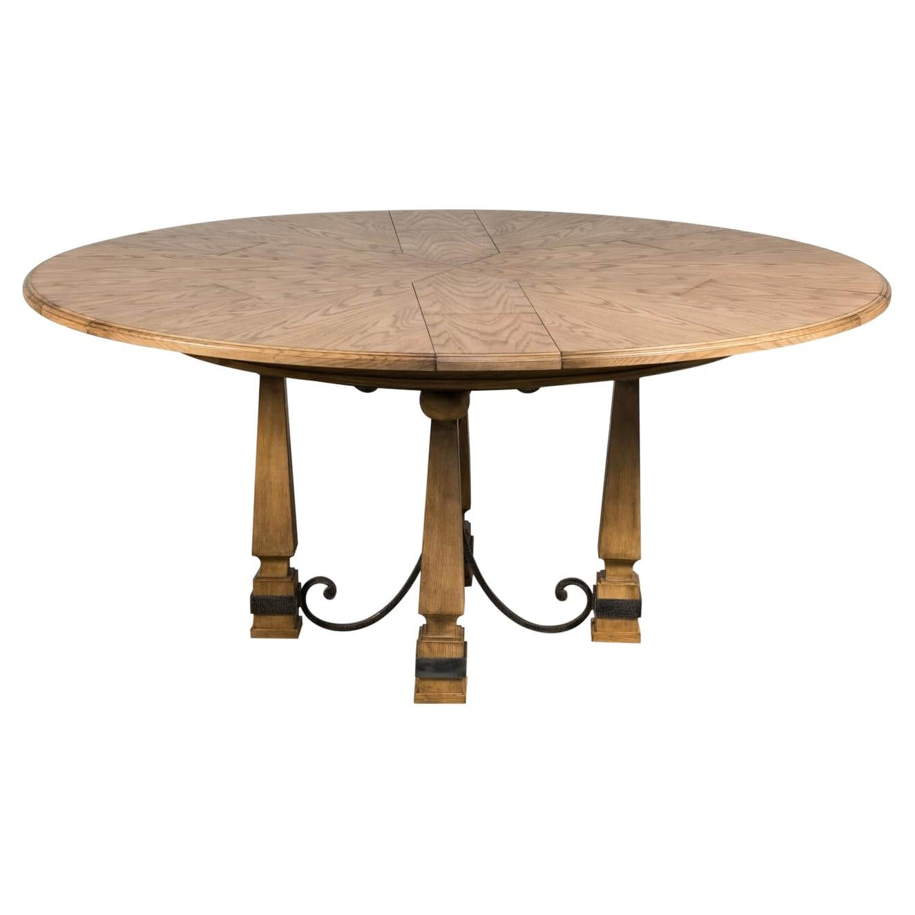Arts & Crafts-Style Jupe Dining Table