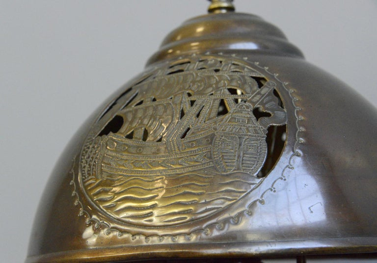 Arts & Crafts Table Lamp, circa 1890 In Good Condition For Sale In Gloucester, GB