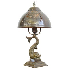 Arts & Crafts Table Lamp, circa 1890