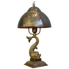Arts & Crafts Table Lamp, circa 1890