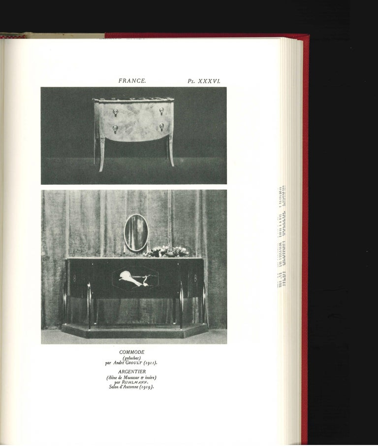20th Century Arts Decoratifs and Industriels Modernes, Set of 12 Books 'ex library copy' For Sale