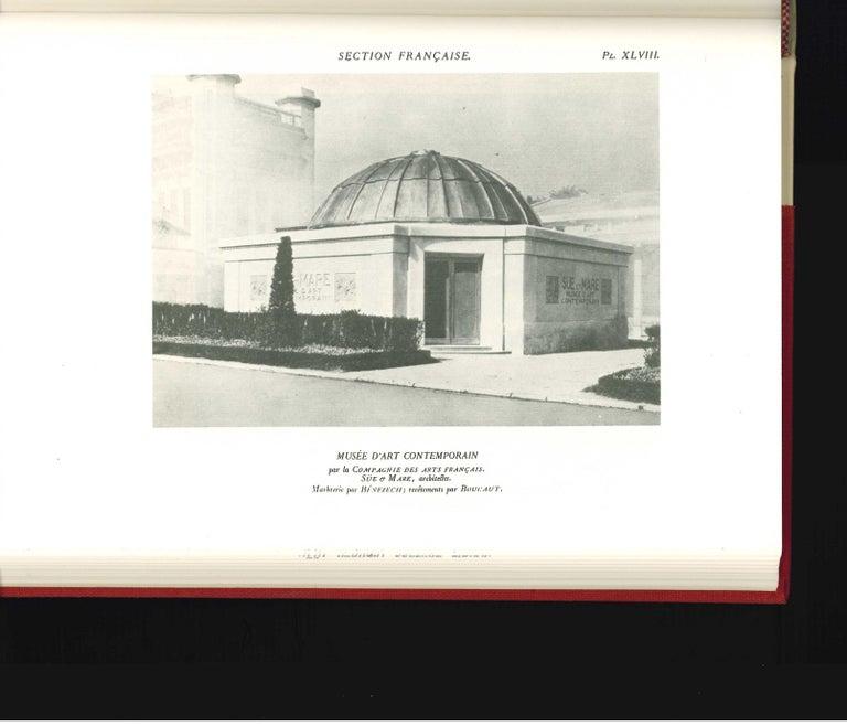 Paper Arts Decoratifs and Industriels Modernes, Set of 12 Books 'ex library copy' For Sale