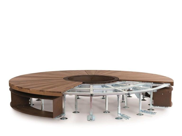 Modern Artu Fire Pit designed by AK47 Design For Sale