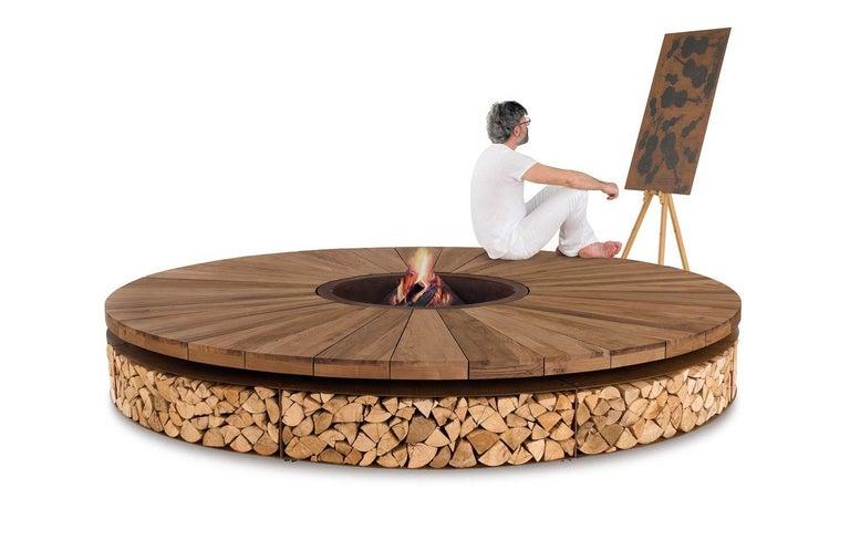 Italian Artu Fire Pit designed by AK47 Design For Sale