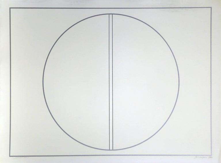 Arturo Bourasseau Abstract Print - Sinoptico