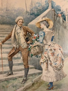 Flowers for Her, French Rococo
