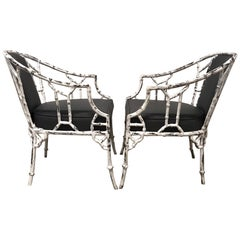Arturo Pani Pair of Armchairs