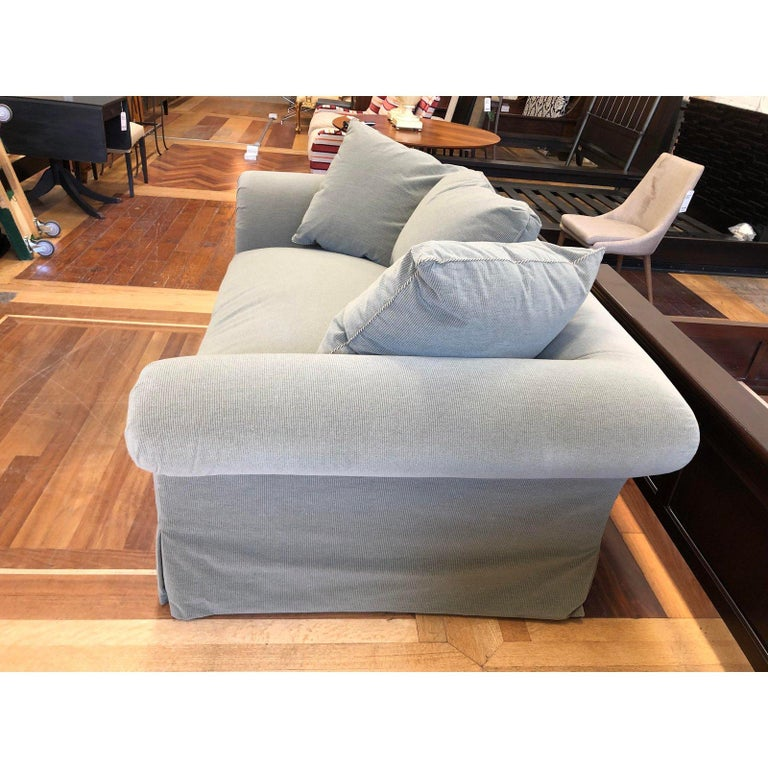A. Rudin Rolled Arm Lounge Sofa For Sale 5