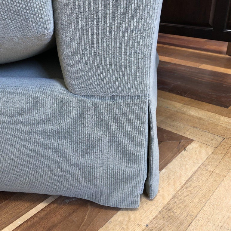 A. Rudin Rolled Arm Lounge Sofa In Good Condition For Sale In San Francisco, CA