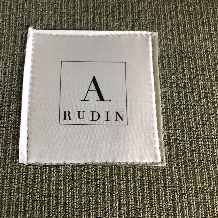 Other A. Rudin Rolled Arm Lounge Sofa For Sale