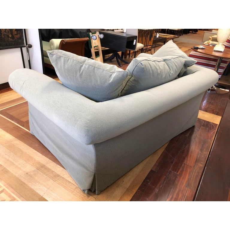 A. Rudin Rolled Arm Lounge Sofa For Sale 3